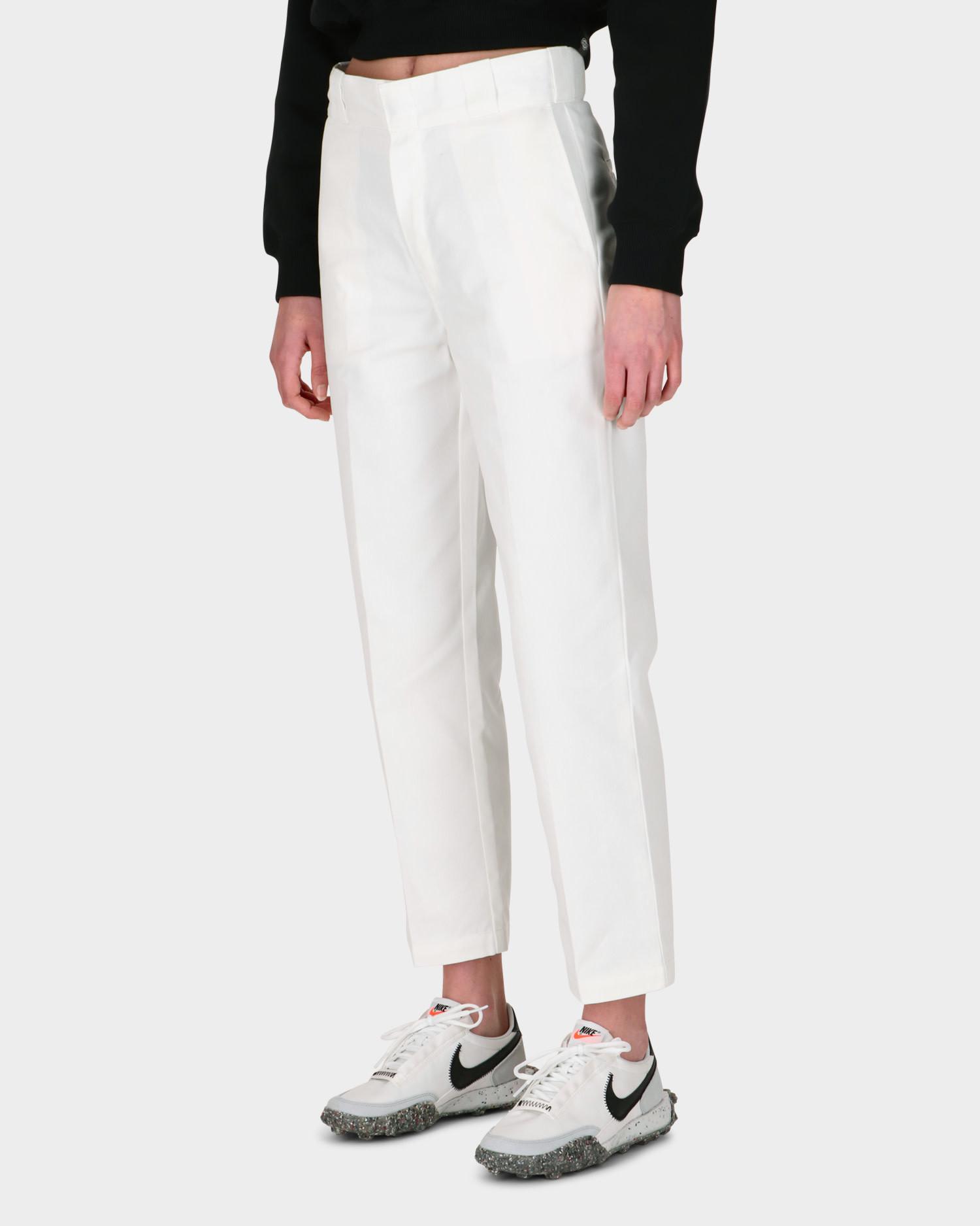 Dickies Original 874 W Cropped Pant White