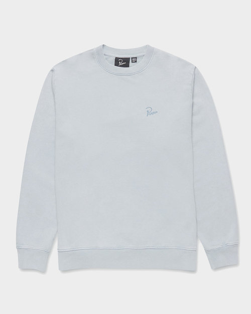 Parra Parra signature logo Crewneck sweatshirt Dusty Blue