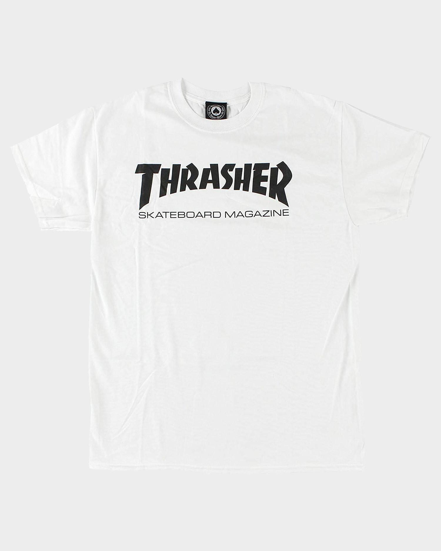 Thrasher Youth Skate Mag Tee White