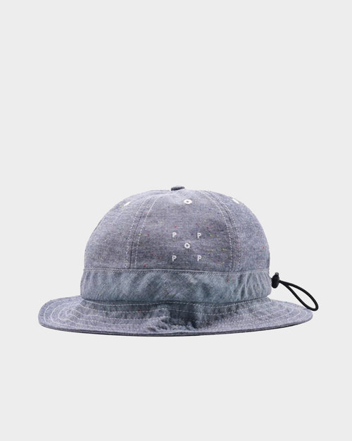 Pop Trading Co Pop Bell Hat Blue Chambray