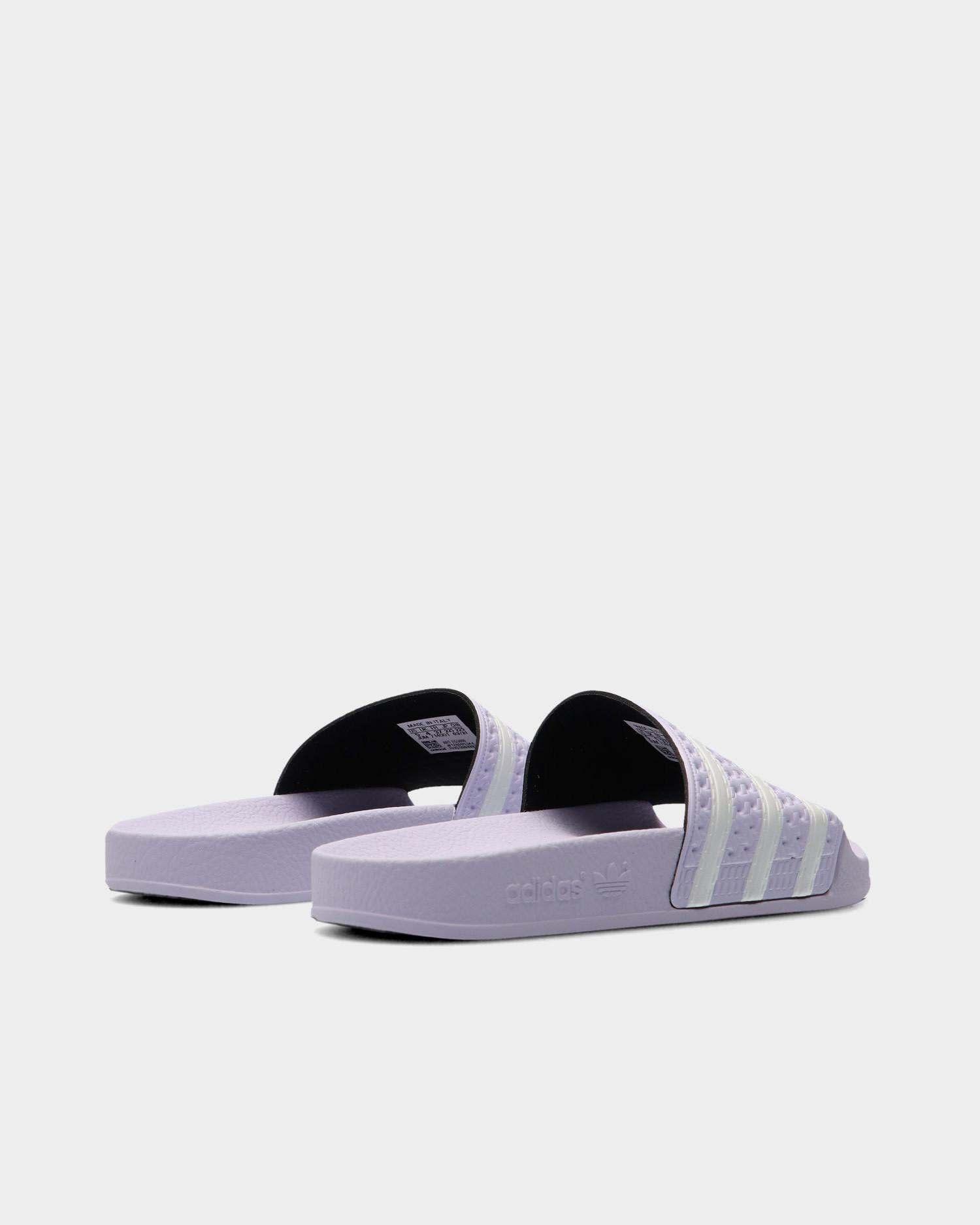Adidas Adilette W Purple Tint/Cloud White /Purple Tint