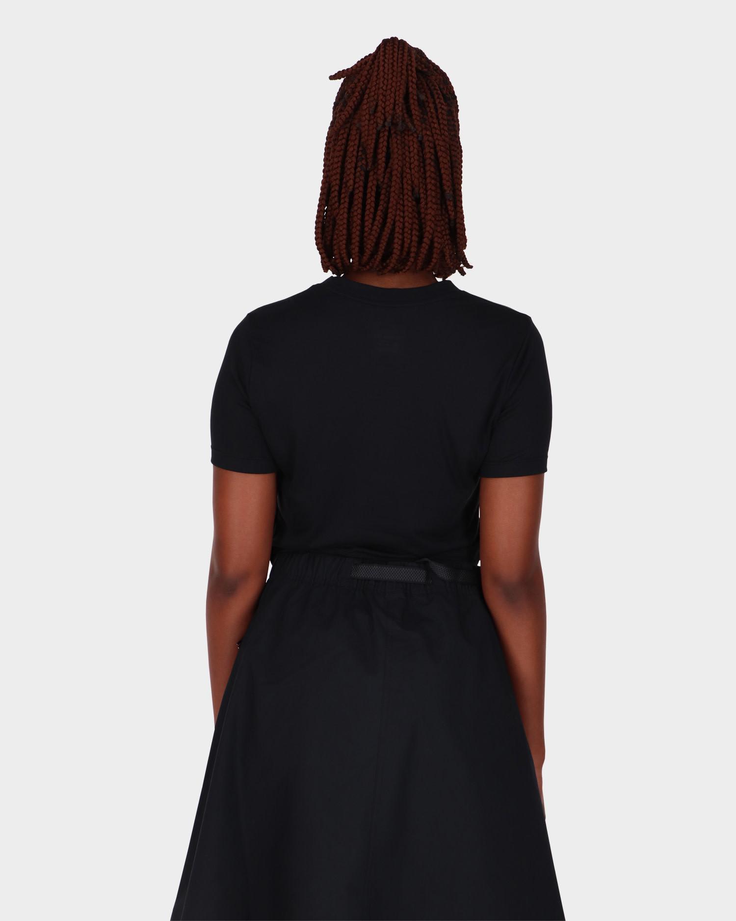 Nike Croptop T-Shirt Black/White
