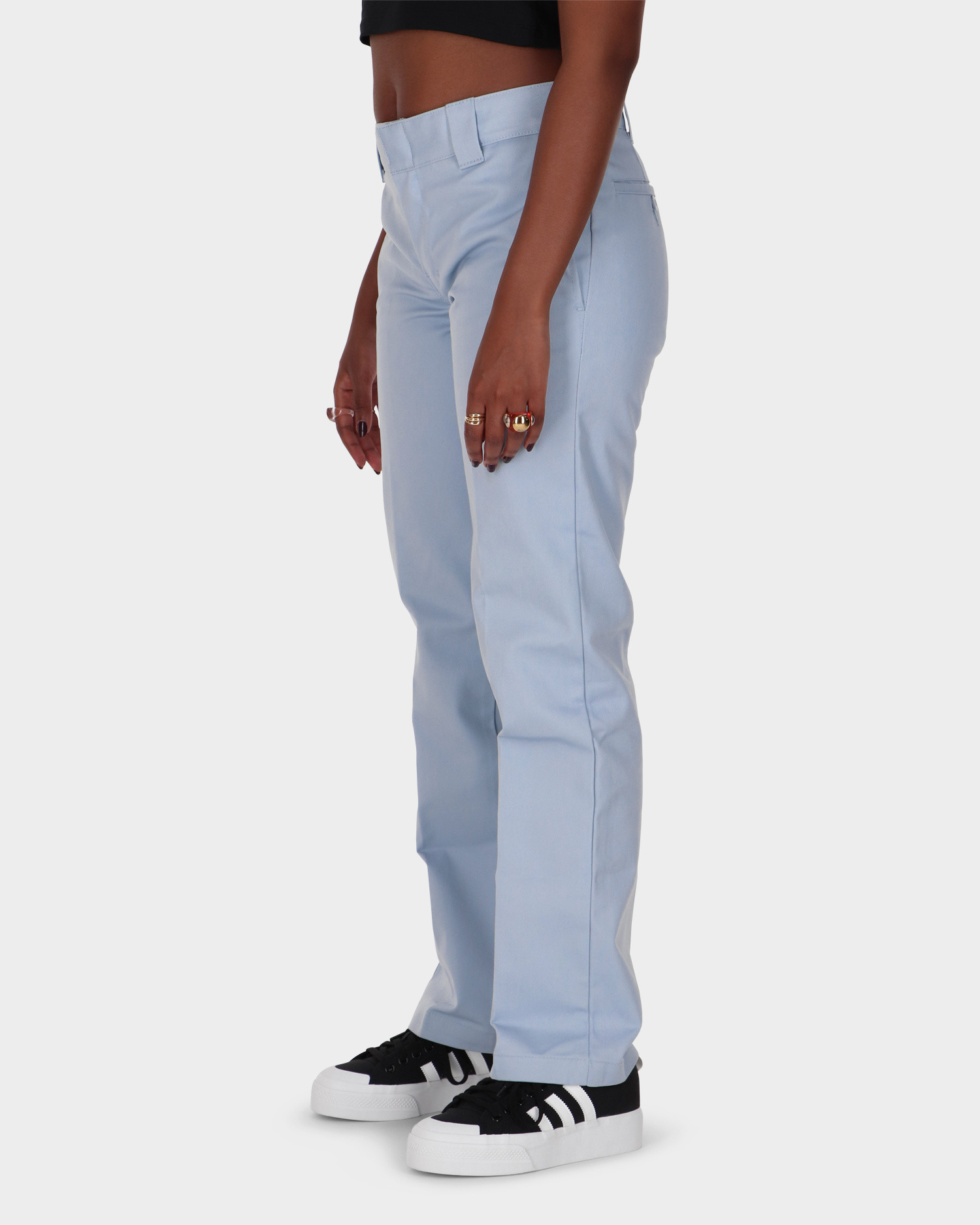 Dickies Slim Straight Work Pant Fog Blue