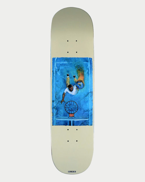 Quasi Quasi Skateboarding JH Game White 8.25