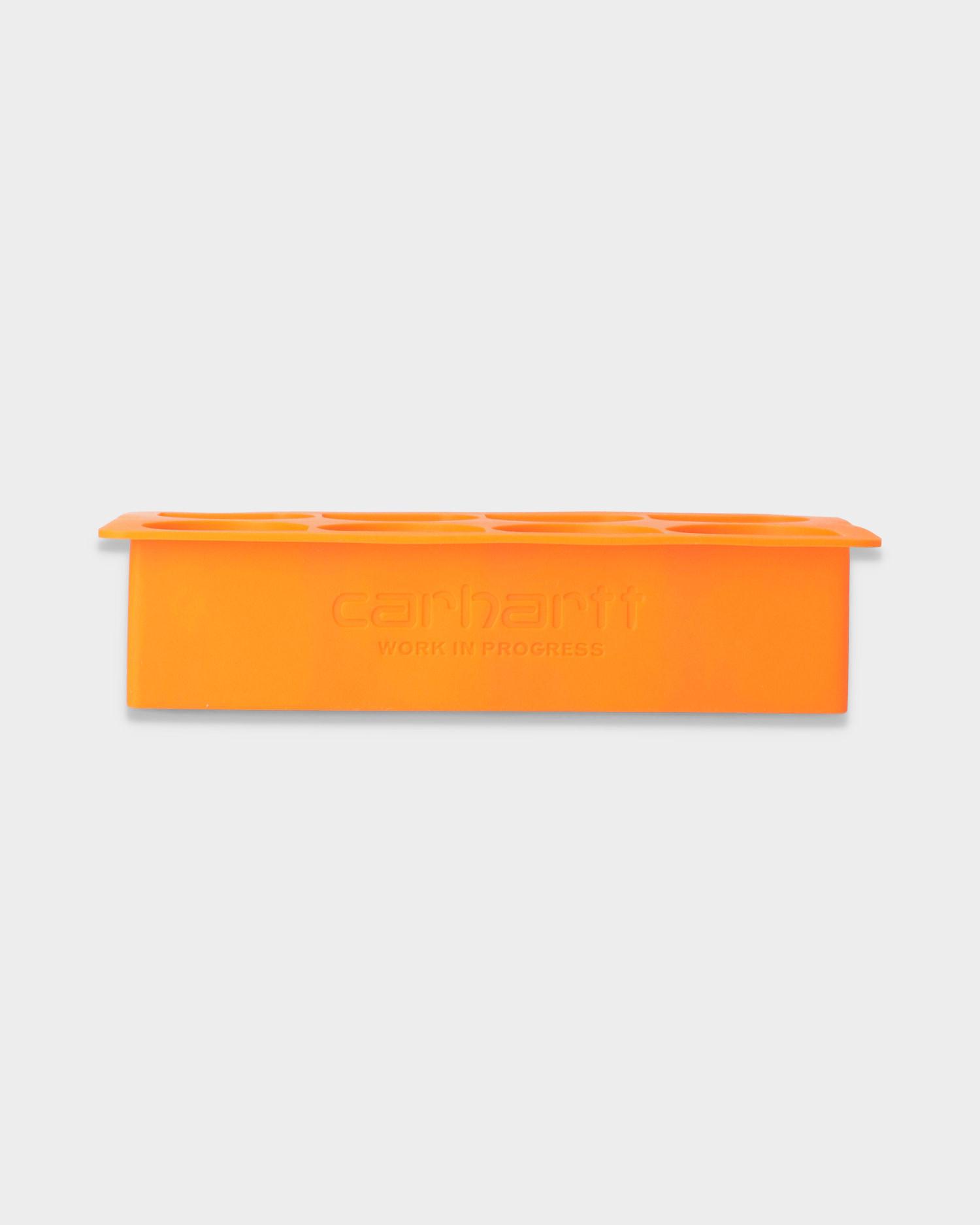 Carhartt WIP C logo Ice Cube Tray Orange