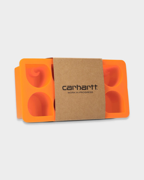 Carhartt Carhartt WIP C logo Ice Cube Tray Orange