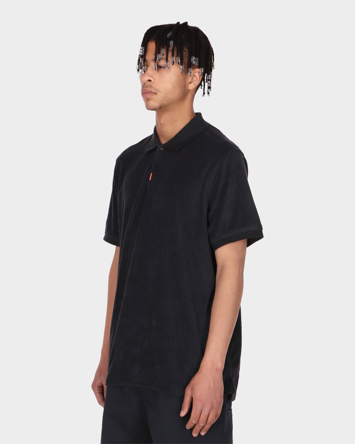 Nike SB Terry Polo Shirt Black