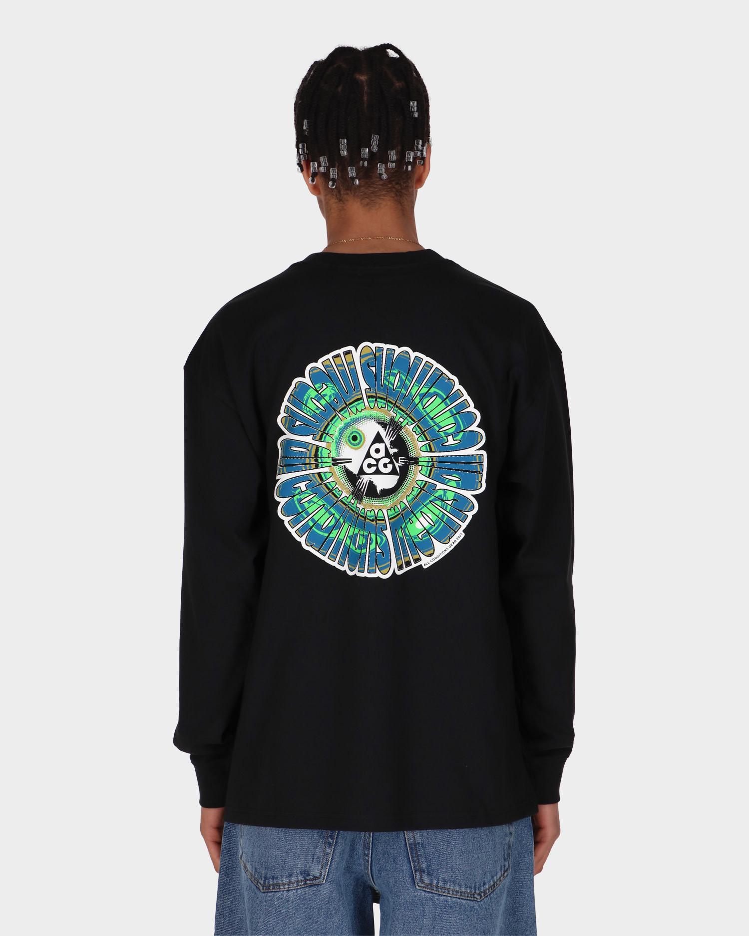 Nike M NRG ACG Circle Longsleeve T-shirt Black