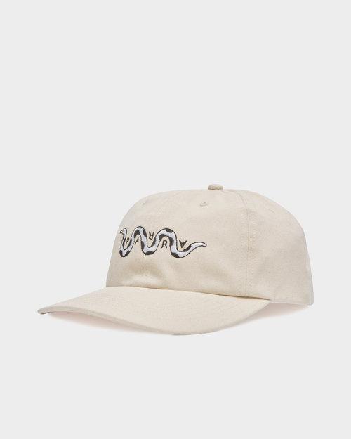 Parra Parra Cap Snaked 6 Panel Hat Off White