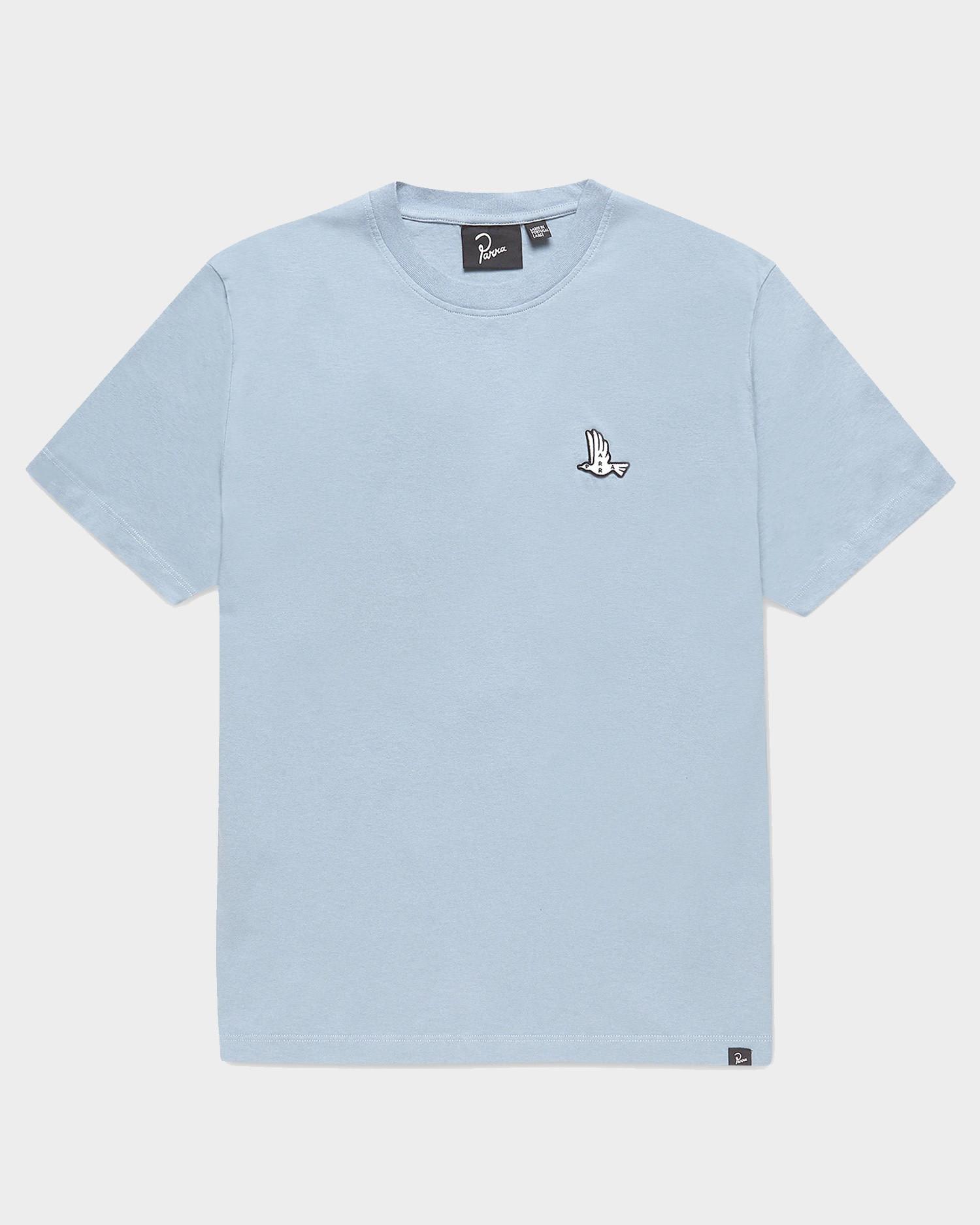 Parra Mother Nature T-shirt  Dusty Blue