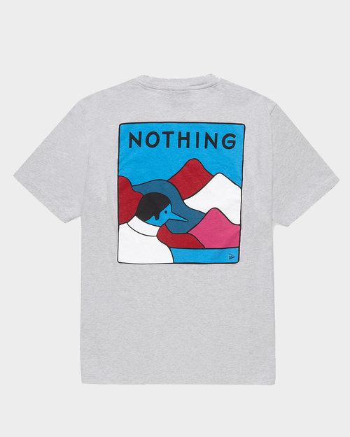 Parra Parra Nothing T-Shirt Ash Grey
