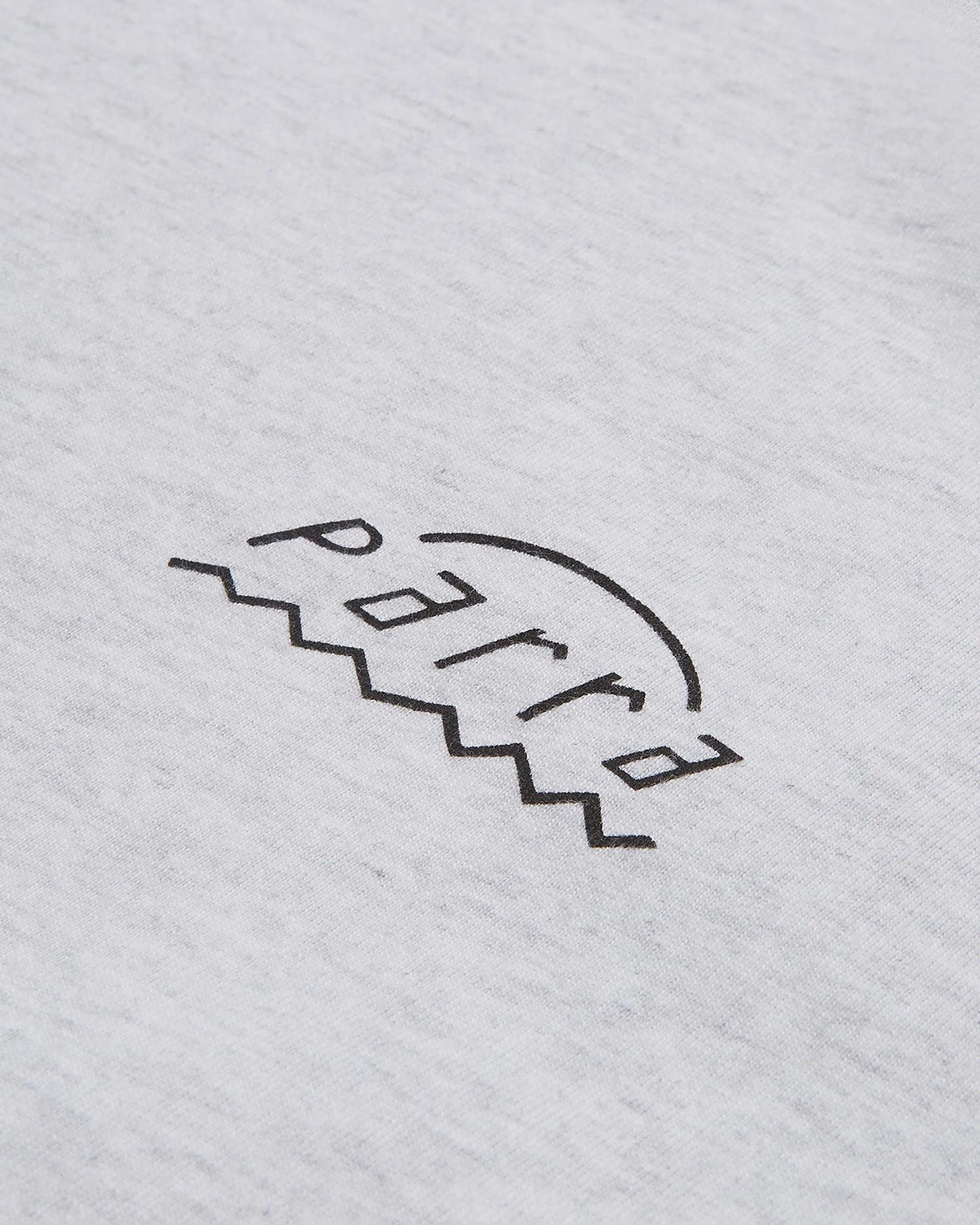Parra Nothing T-Shirt Ash Grey