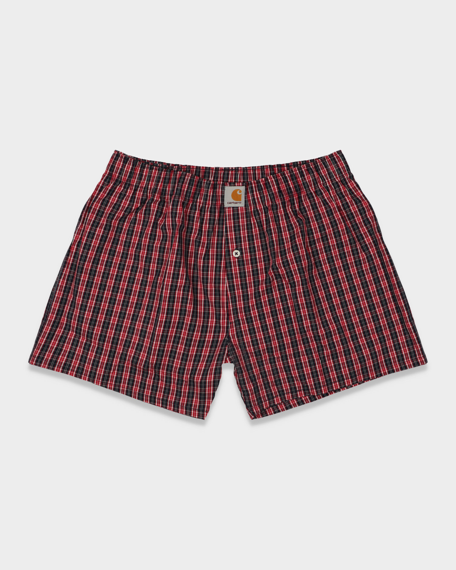 Carhartt Boxers James Check/Etna Red