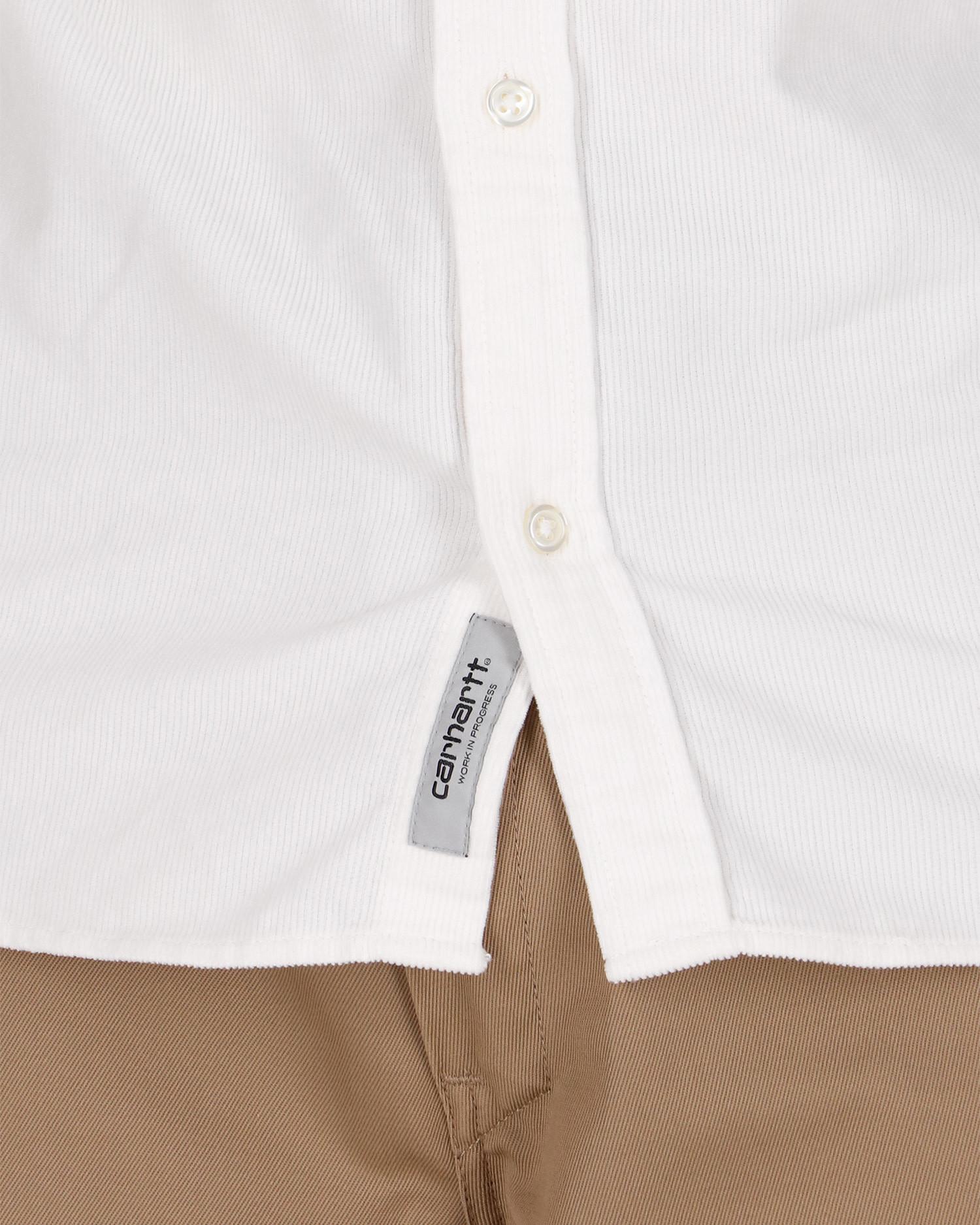 Carhartt Madison Cord Shirt Wax/Kingston