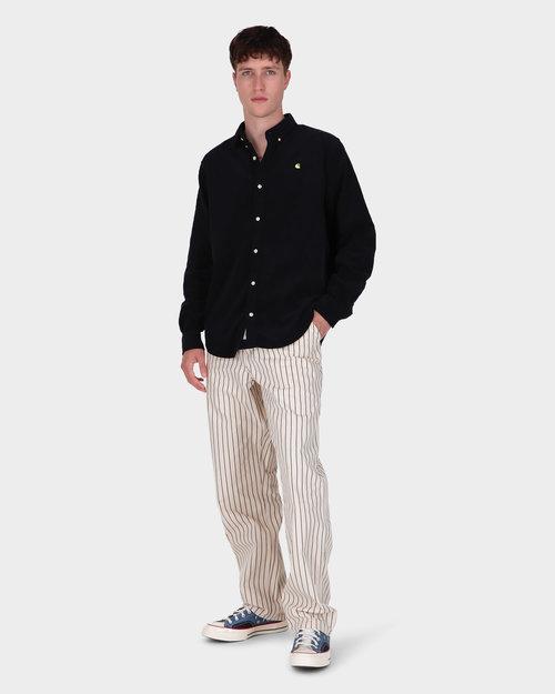 Carhartt Carhartt Madison Cord Shirt Dark Navy/Limoncello