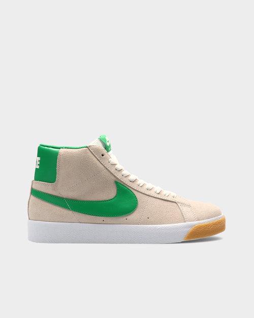 Nike Nike SB Zoom Blazer Mid White/Lucky Green