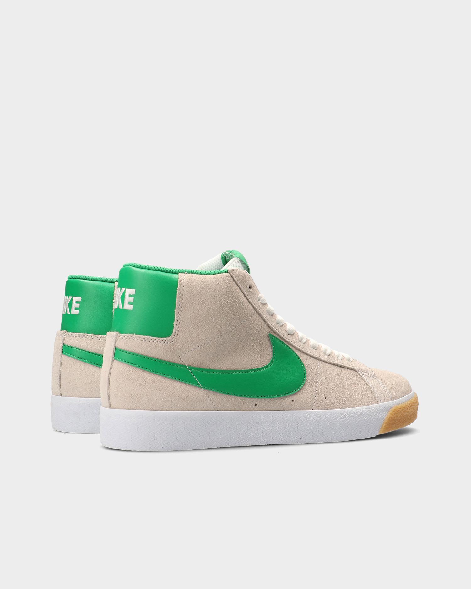 Nike SB Zoom Blazer Mid White/Lucky Green