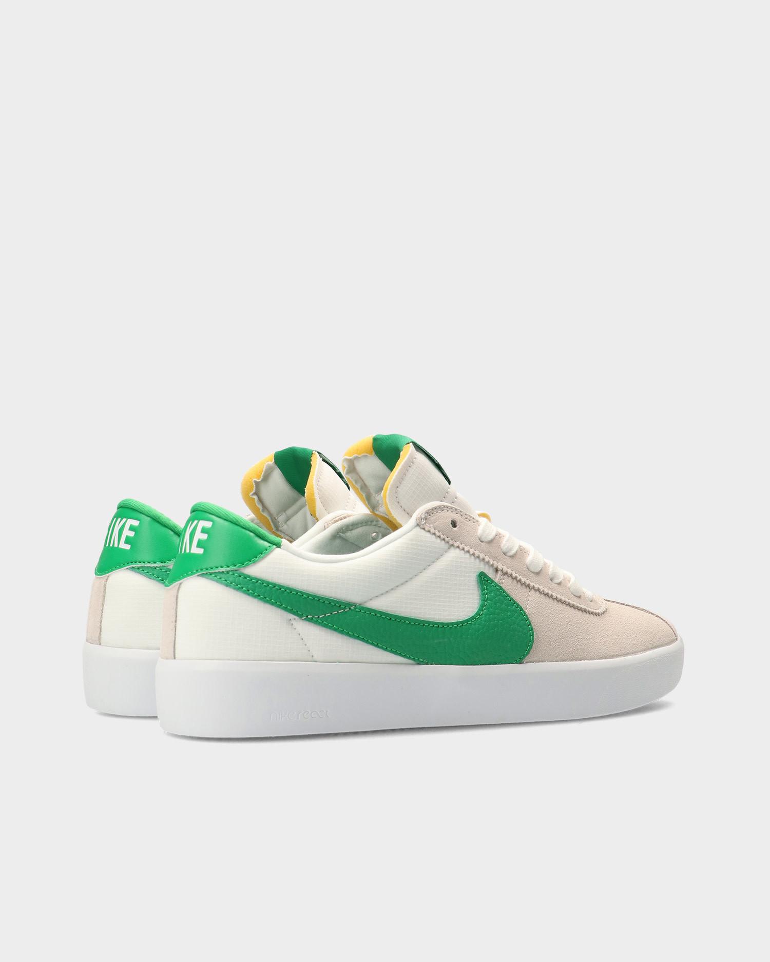 Nike Sb Bruin React White/Lucky Green