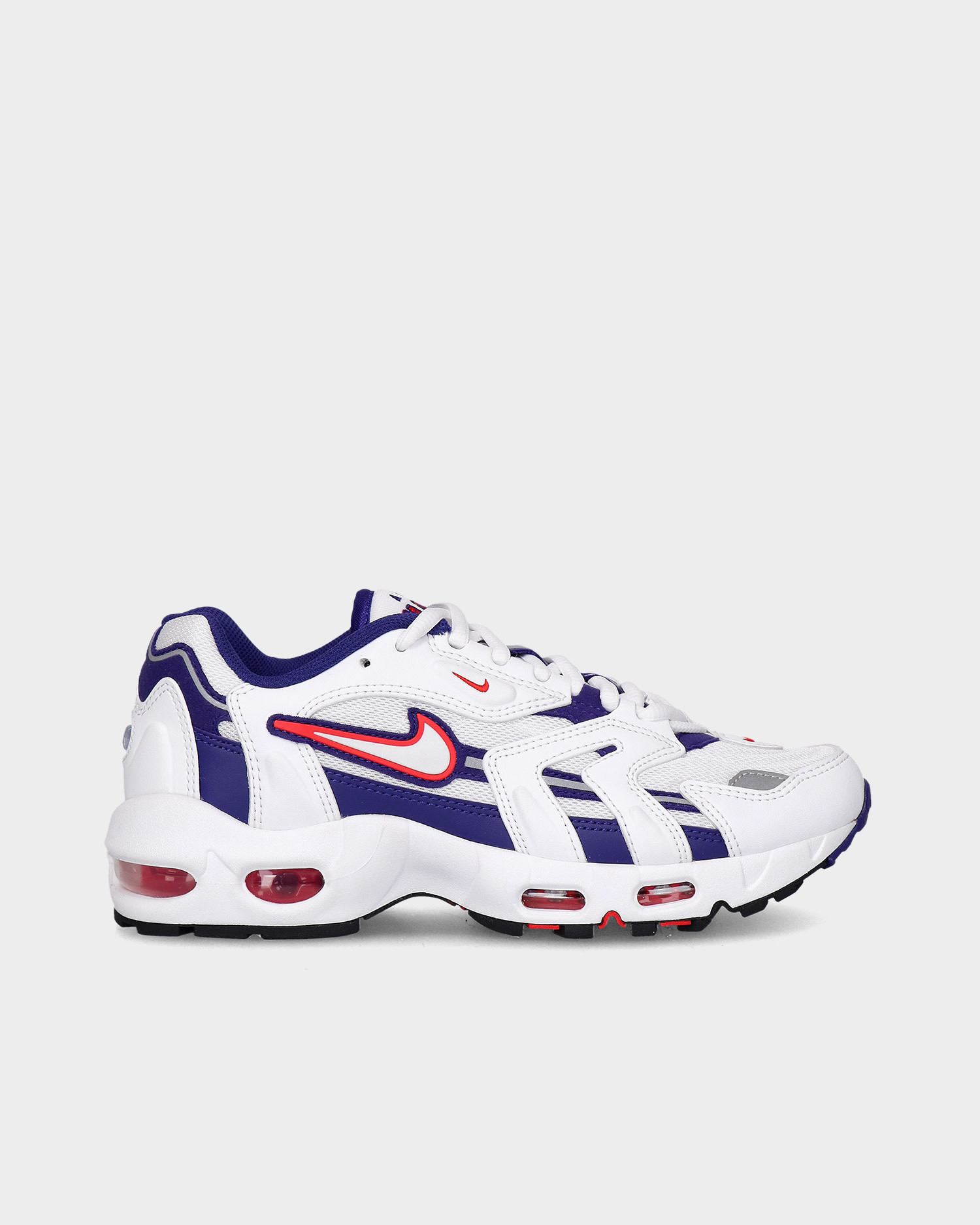 Nike W air max 96 ii White/comet red-grape ice