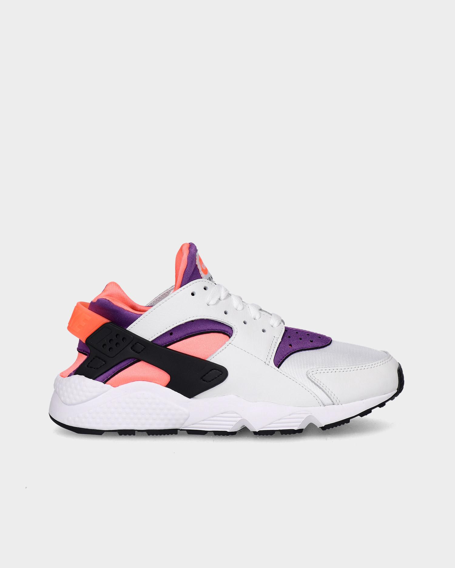 Nike Air Huarache White/purple-bright mango-black