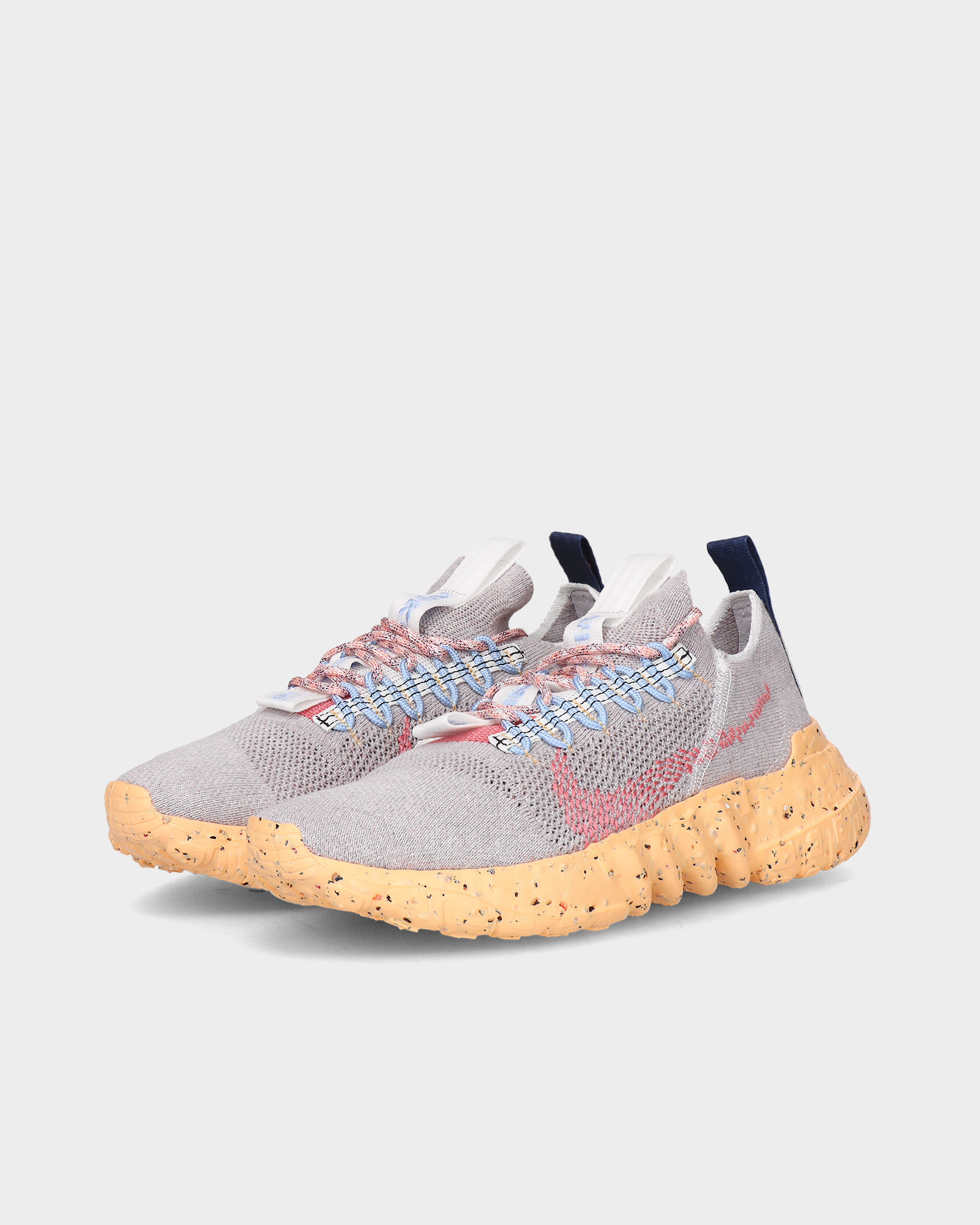 Nike space hippie 01 Vast grey/summit white-melon tint