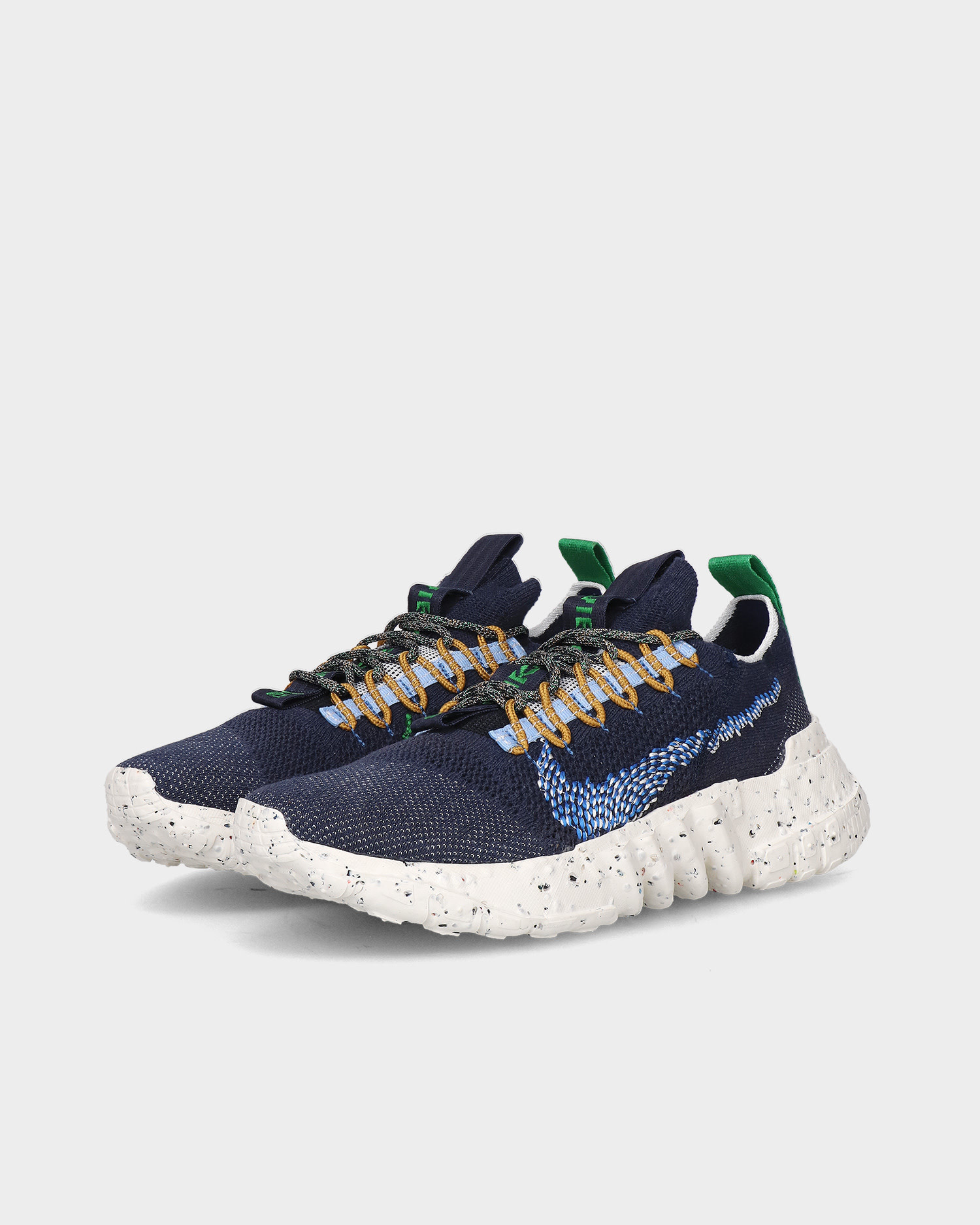 Nike space hippie 01 Obsidian/signal blue-psychic blue-white