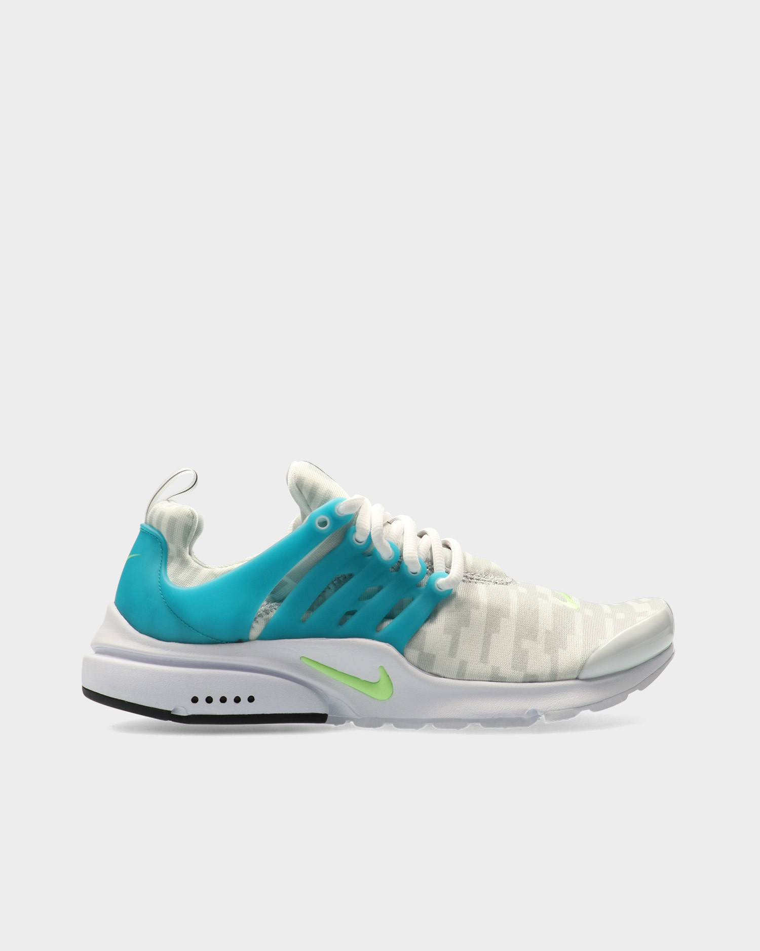 Nike air presto White/lime glow-aquamarine-pure platinum