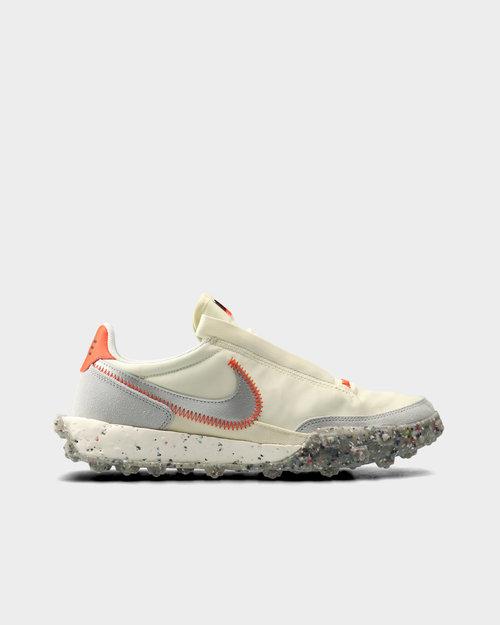 Nike Nike Waffle Racer Crater Coconut milk/metallic silver-team orange