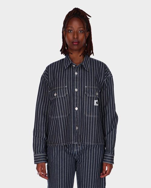 Carhartt Carhartt W' Trade Longsleeve Shirt Dark Navy/Wax Rinsed