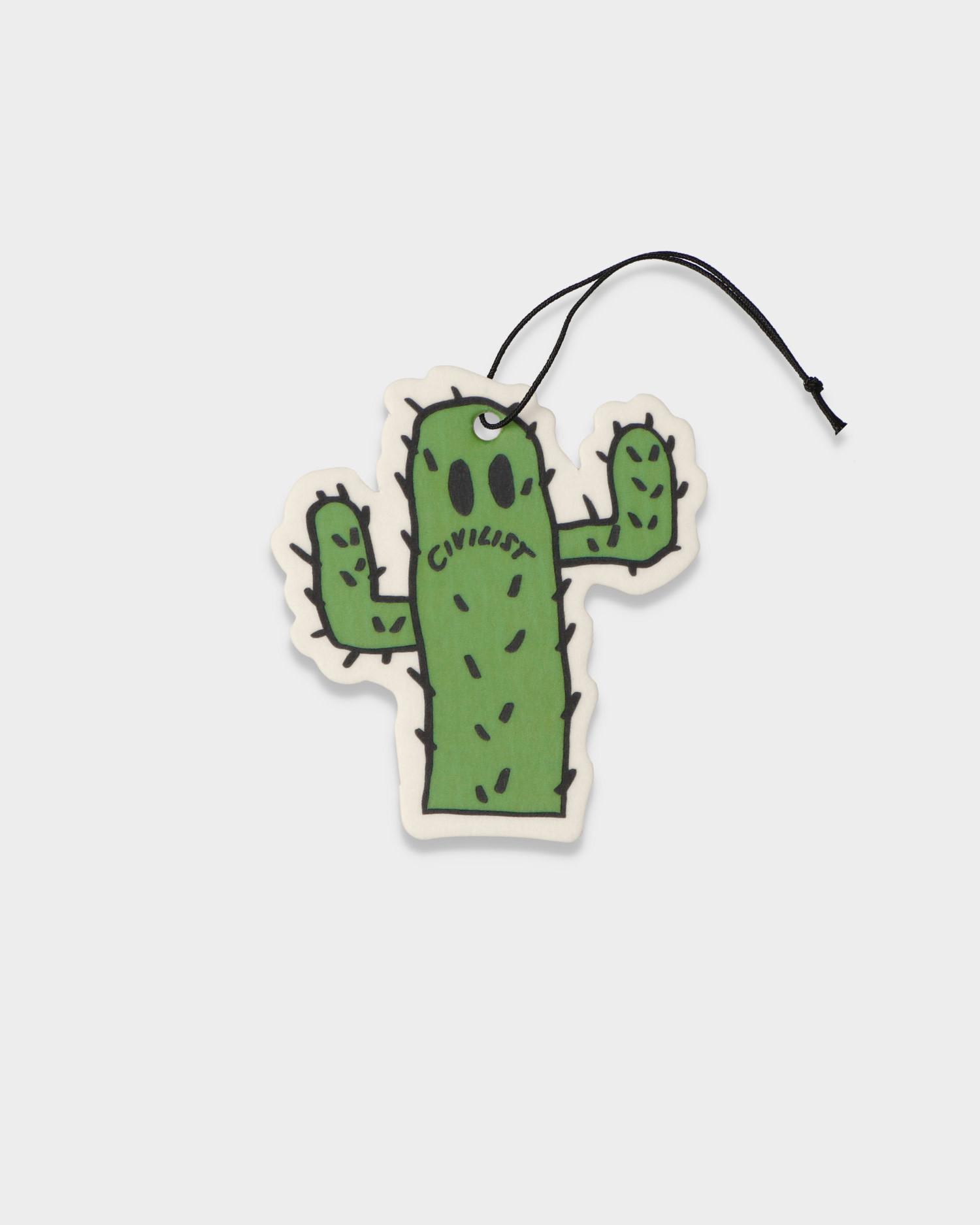 Civilist Cactus Smiler Air Freshener Green