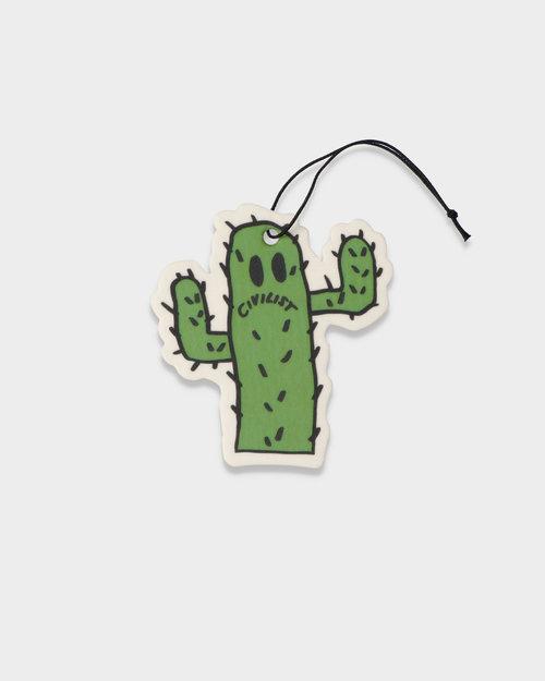Civilist Civilist Cactus Smiler Air Freshener Green