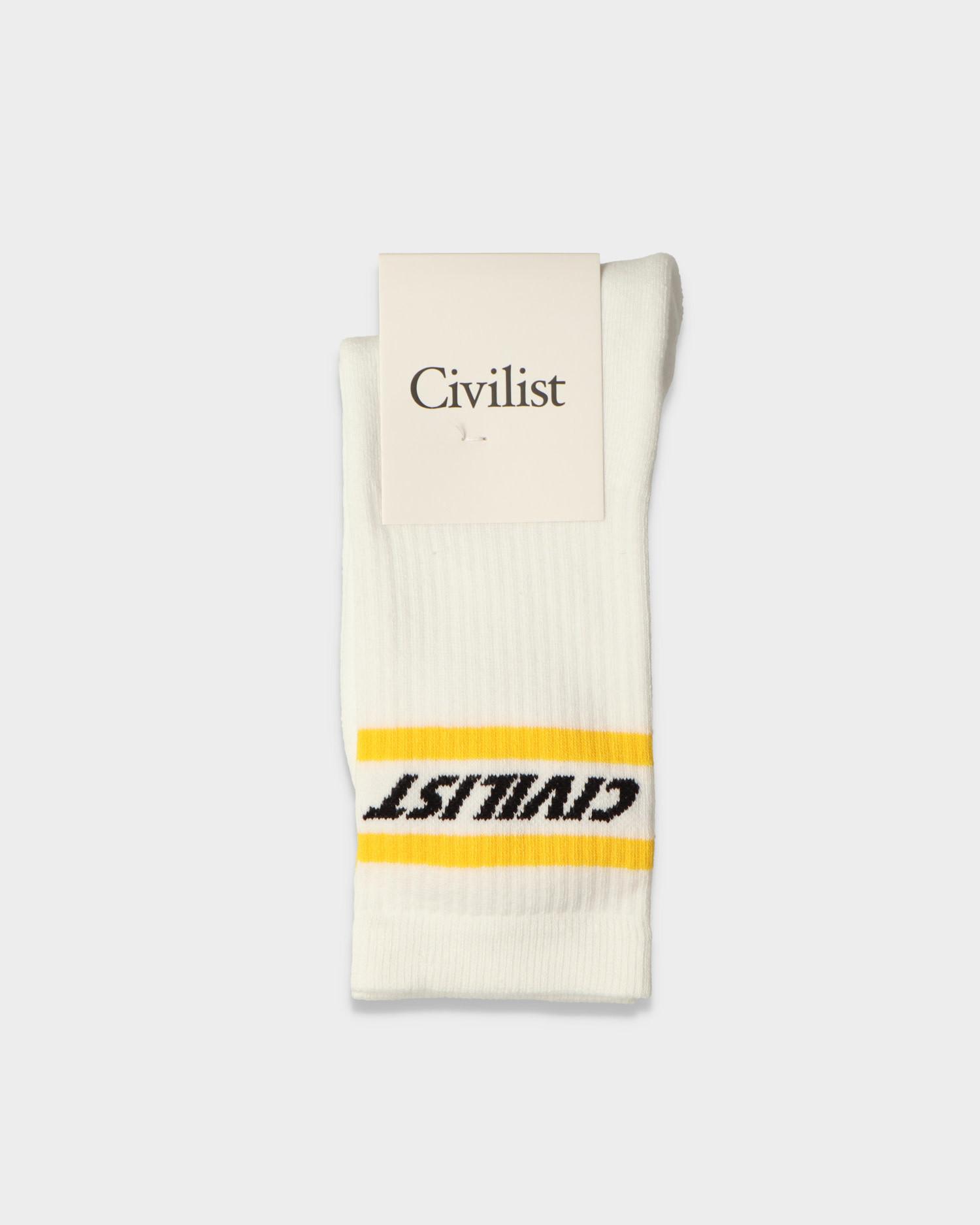 Civilist Fast Socks White