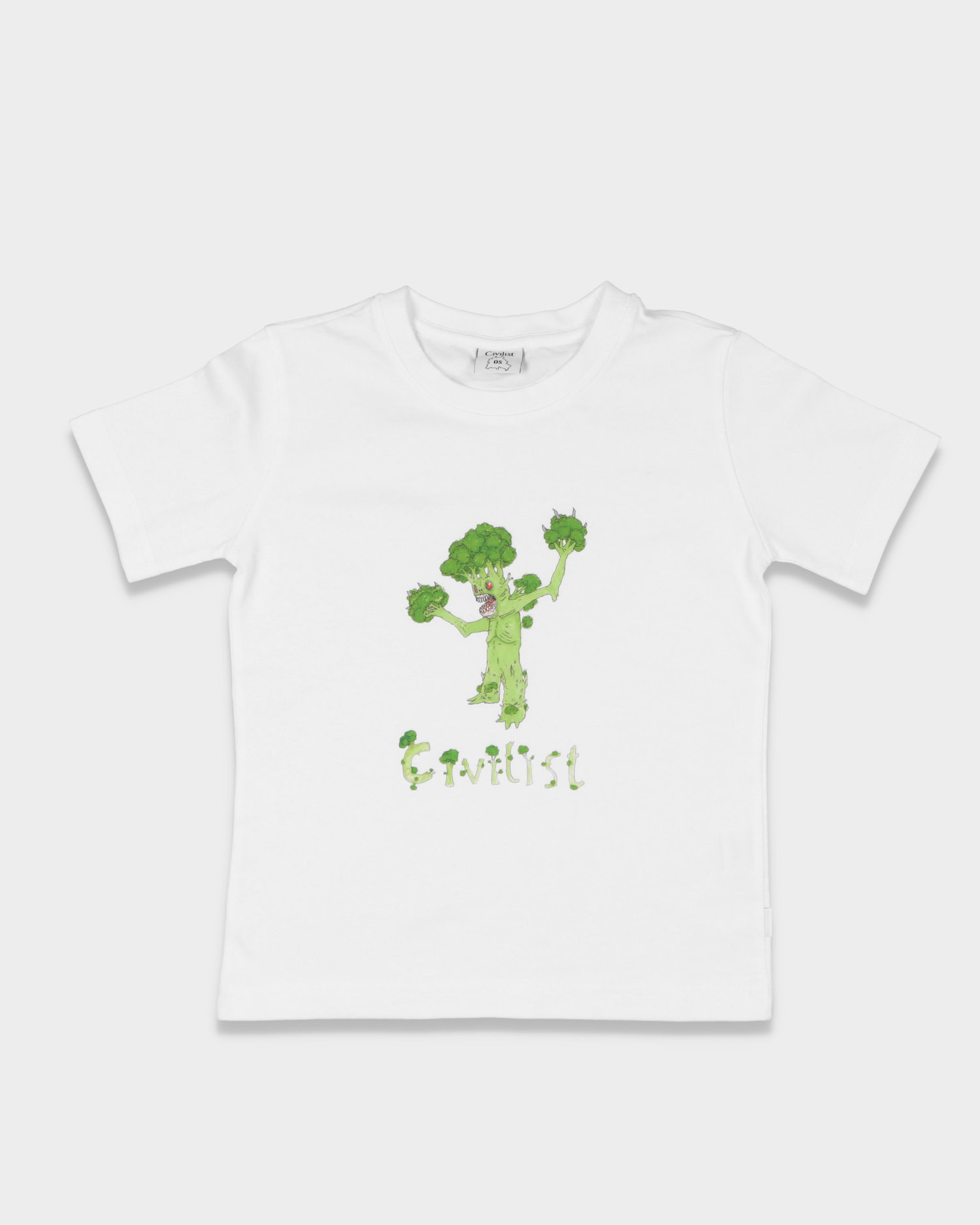 Civilist Broccoli Tee Kids White