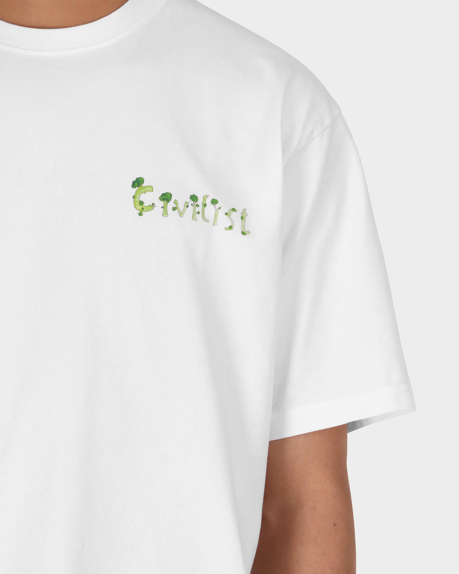 Civilist Broccoli Tee White