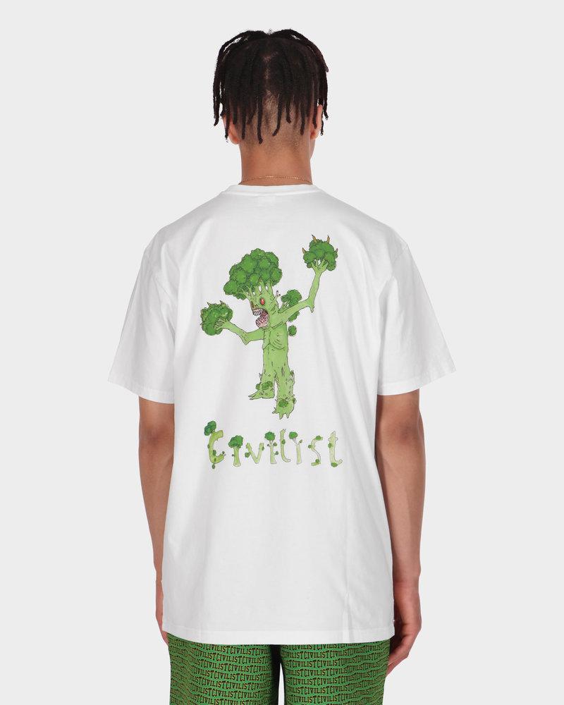 Civilist Civilist Broccoli Tee White