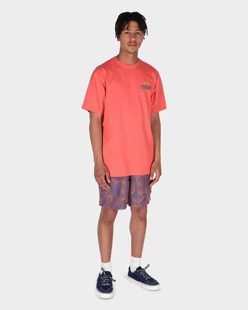 Civilist Civilist Wave Swim Shorts Orange/Royal