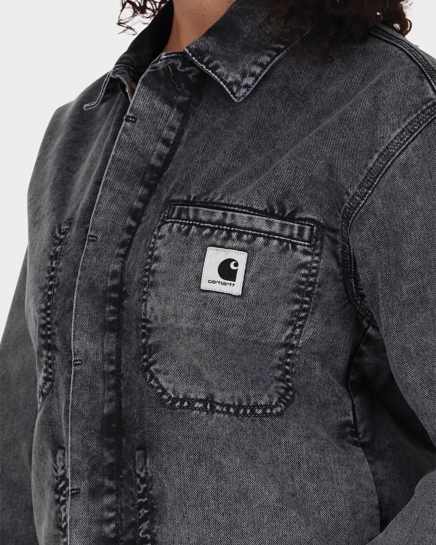 Carhartt W'Sonora Jacket Black Worn Washed