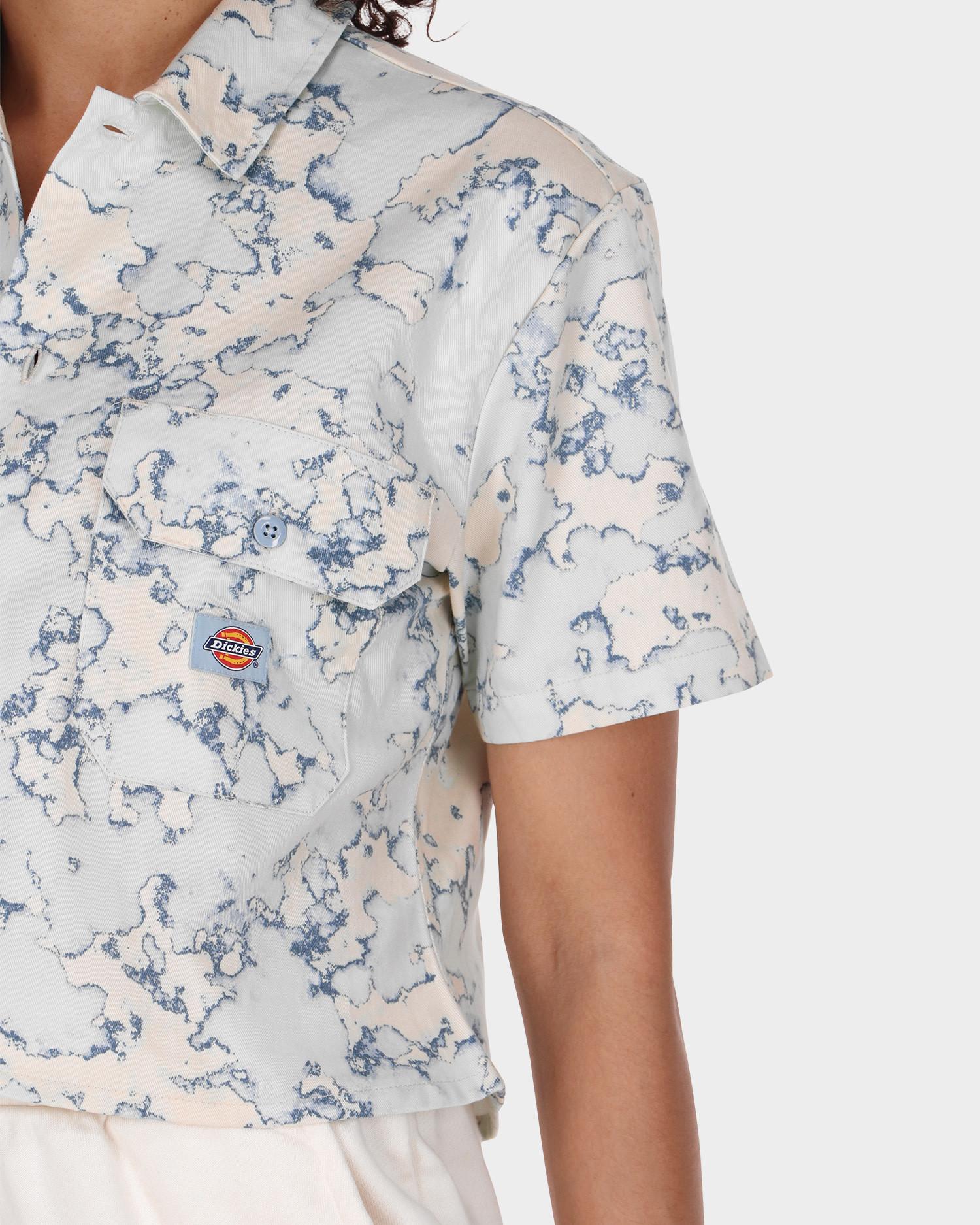Dickies Sunburg Shirt W Fog Blue