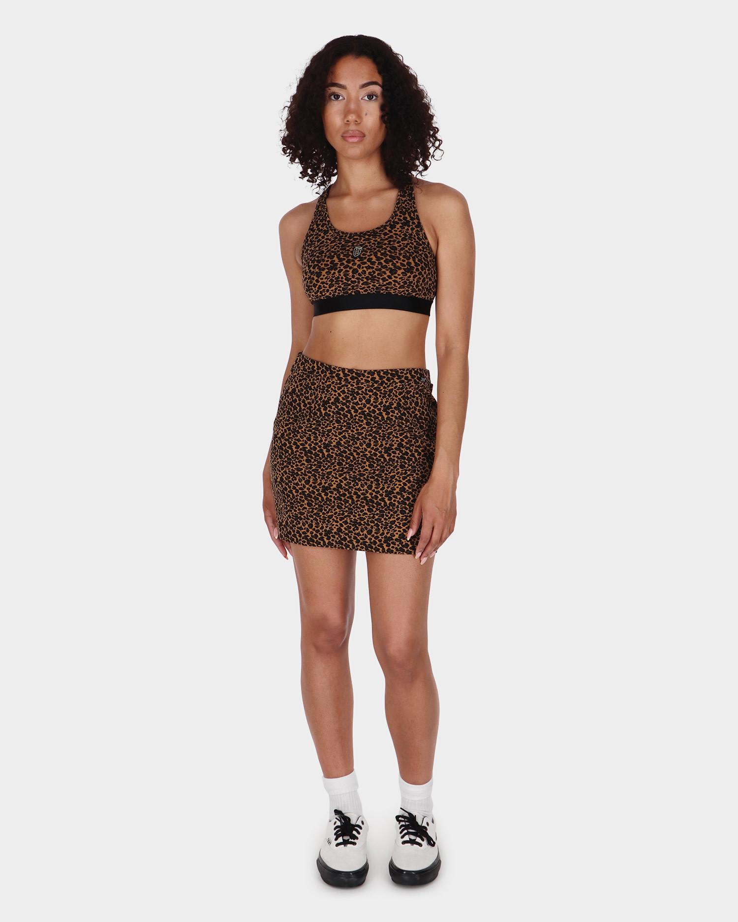 Vans Strauberry Leopard Skirt Cher Cheetah