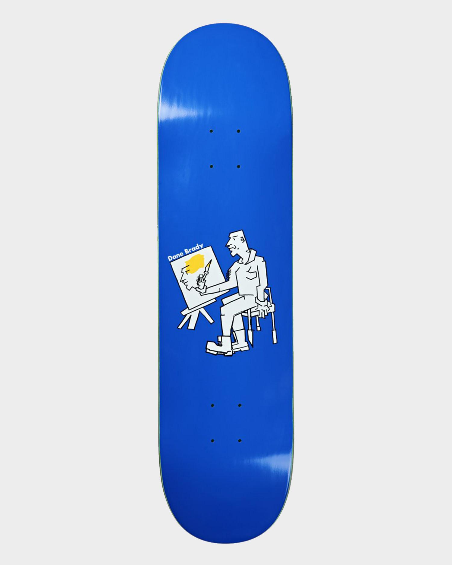 "Polar Deck Dane Brandy Painter Blue  8.375"""