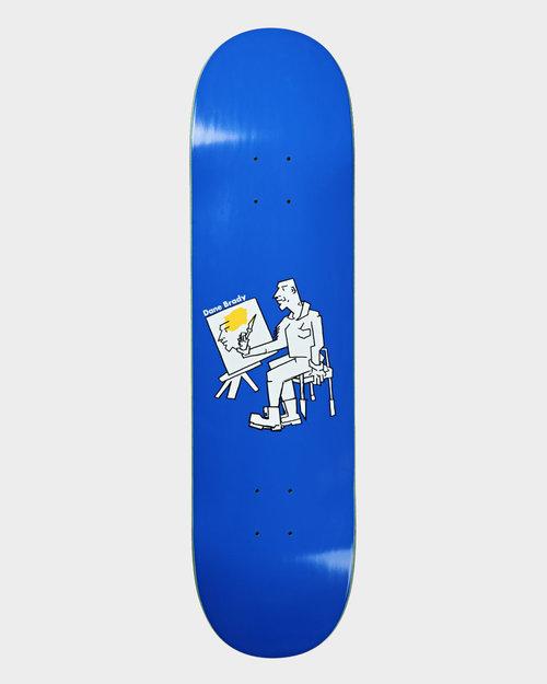 "Polar Polar Deck Dane Brandy Painter Blue  8.375"""