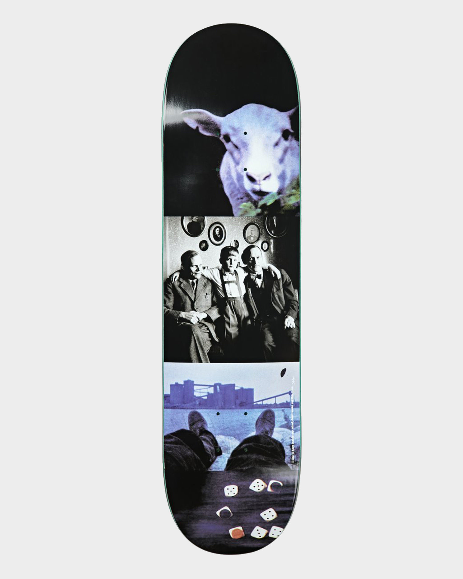 """Polar Team Deck I like it here ... Sheep In Motion  8.125"""""""