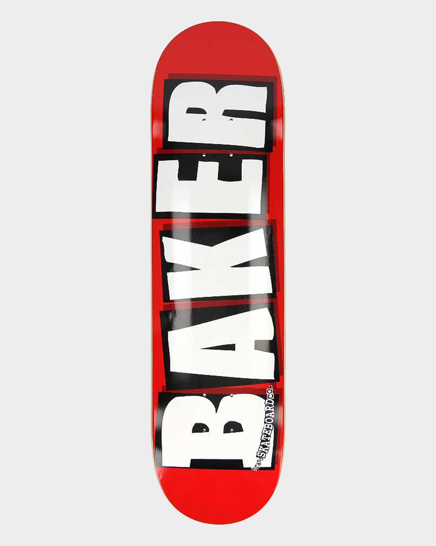 """Baker Brand Logo White Deck 8.125"""""""