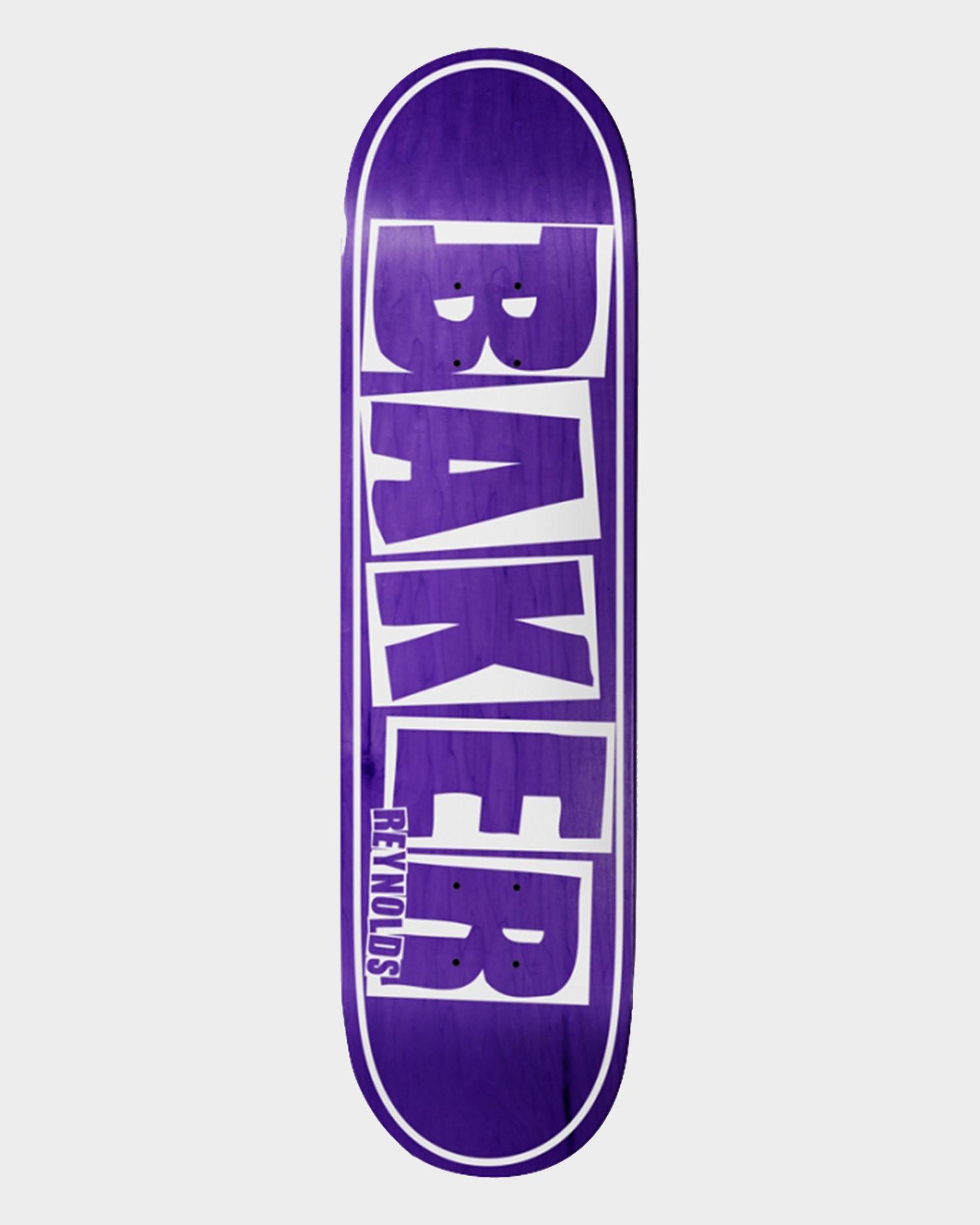 Baker Deck AR Brand Name Purple Veneer 8.125
