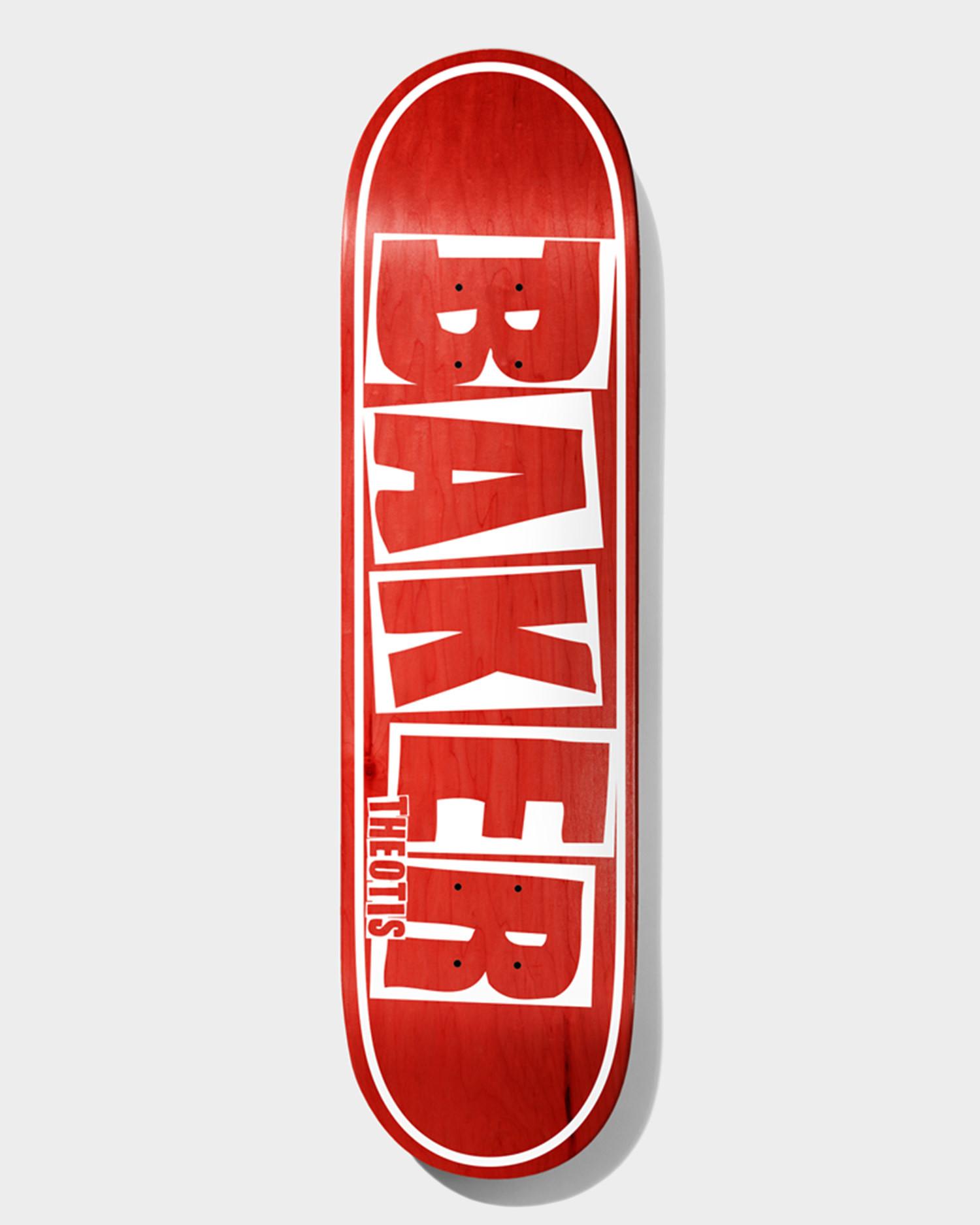 Baker Deck TB Brand Name Red Veneer 8.5