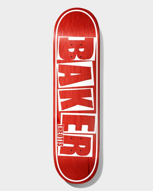 Baker Baker Deck TB Brand Name Red Veneer 8.5