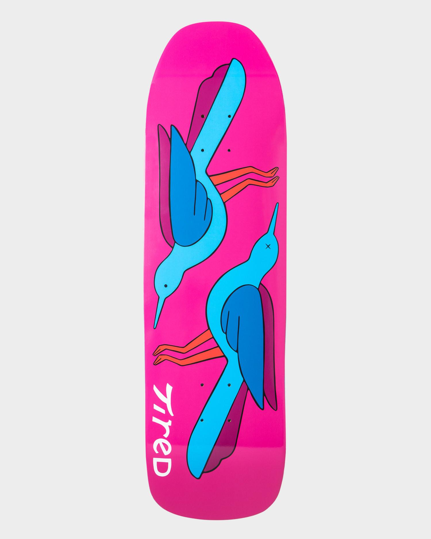 Tired Birds Skateboard Stumpnose 9