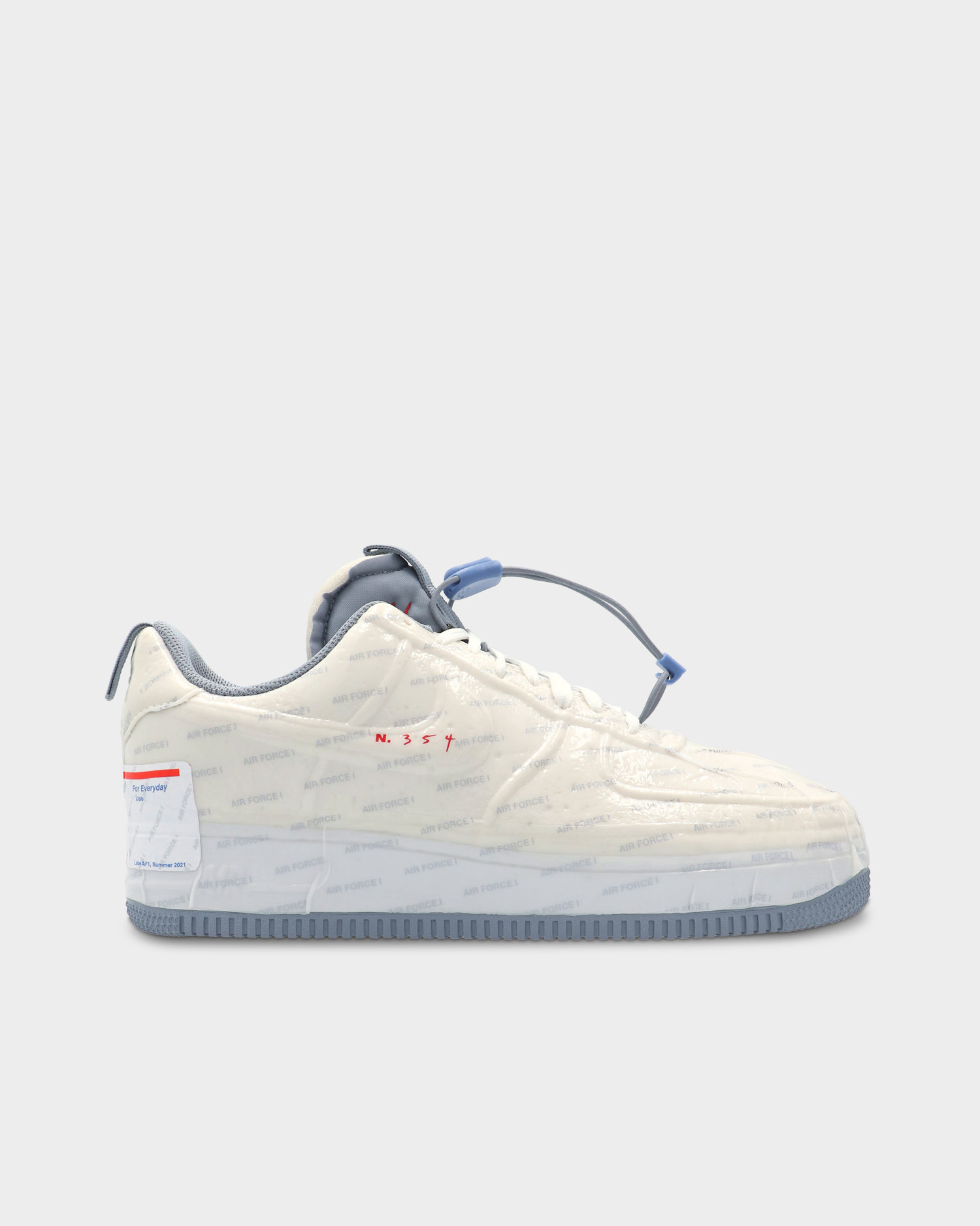 Nike Air Force 1 Experimental White Ghost/Ashen Slate/Game Royal