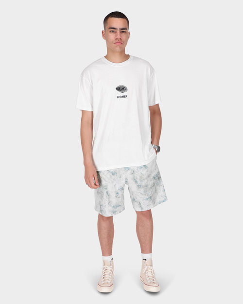 Carhartt Carhartt Marble Shorts Marble Print Wave Stone Washed