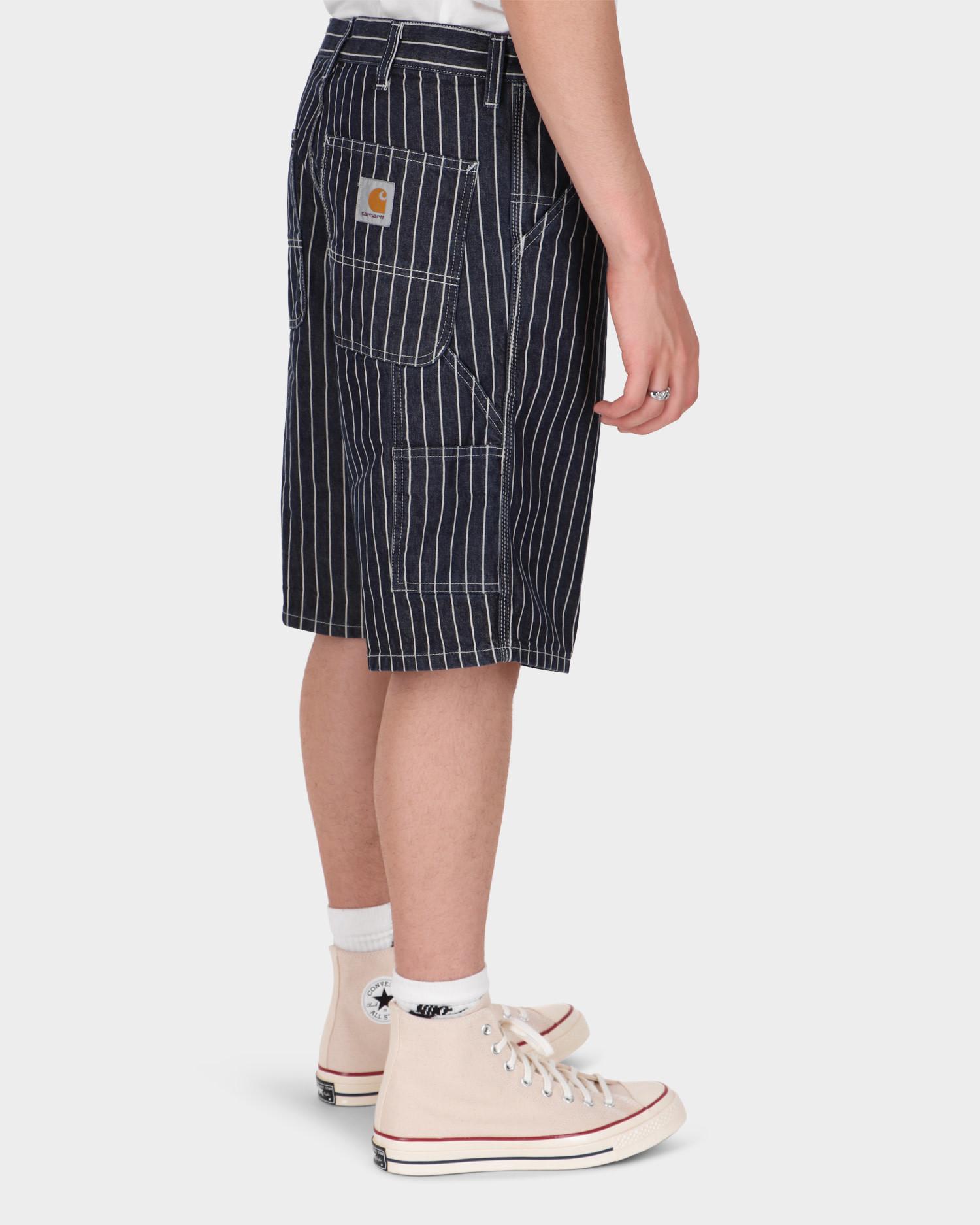 Carhartt Trade Single Knee Shorts Dark Navy/Wax Rinsed